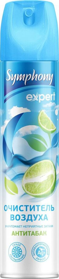 NEW Очиститель воздуха SYMPHONY Антитабак 300см3 (N)*