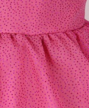 Нарядное платье пурпурного цвета для девочки Цвет: пурпурный