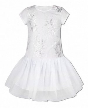 Белое нарядное платье для девочки Цвет: белый