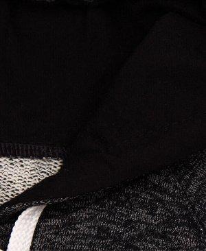 Джемпер для девочки,чёрный меланж Цвет: чёрный меланж