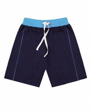 Синие шорты для мальчика Цвет: синий