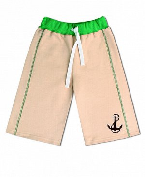 Бежевые бриджи для мальчика Цвет: песочный
