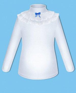 Школьная белая водолазка для девочки Цвет: белый