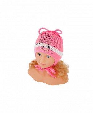 Шапка розовая для девочки Цвет: розовый