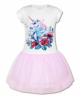 Белое платье для девочки Цвет: белый