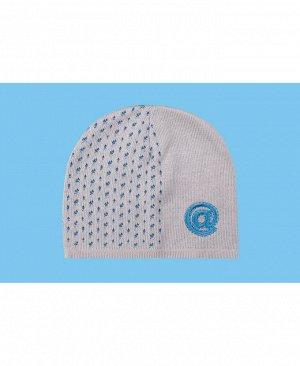 Серая шапка для мальчика Цвет: серый