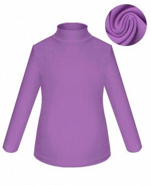 Фиолетовая водолазка для девочки Цвет: фиолетовый