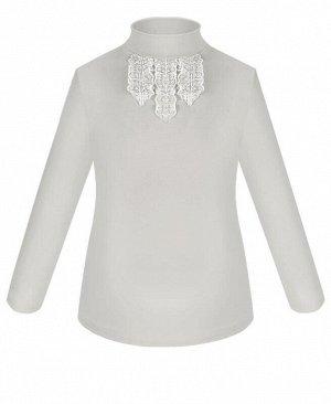 Серая школьная водолазка (блузка) для девочки Цвет: серый