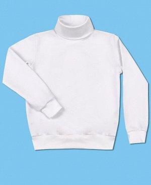 Белый школьный джемпер Цвет: белый