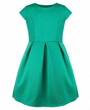 Изумрудное платье для девочки Цвет: изумрудный