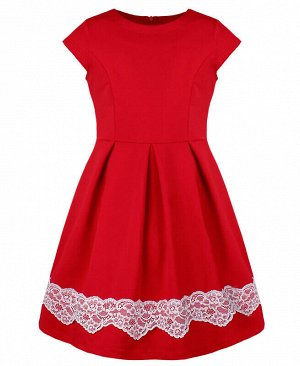 Красное платье для девочки Цвет: красный