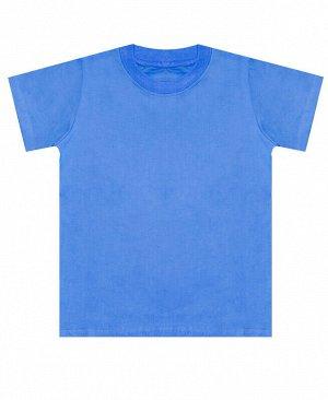 Футболка для мальчика голубая Цвет: голубой
