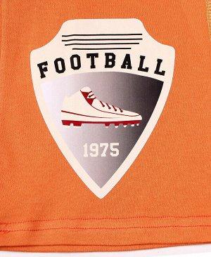 Оранжевые бриджи для мальчика Цвет: оранжевый