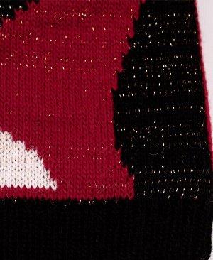 29791-ПШ19 Шапка р.54/56 Цвет: красный
