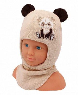 Шлем-шапка для мальчика Цвет: бежевый