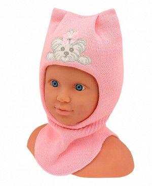 Шлем-шапка для девочки Цвет: св.розовый