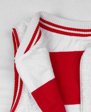 Белый жилет для девочки Цвет: белый