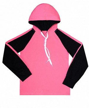 Спортивный чёрный джемпер с лампасами для девочки Цвет: черный