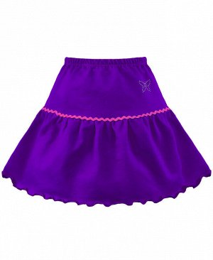 Фиолетовая юбка для девочки Цвет: фиолет