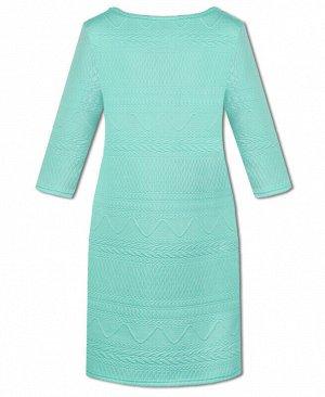 Салатовое платье для девочки Цвет: ментол