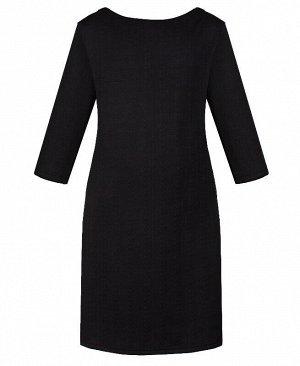Чёрное платье для девочки Цвет: черный