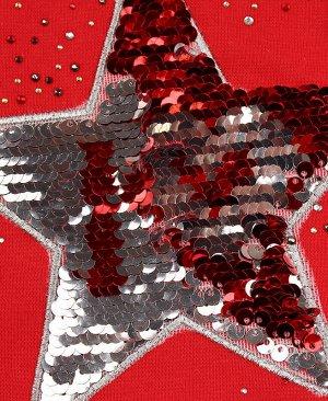 Шапка для девочки Цвет: красный