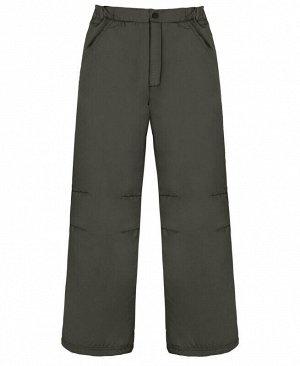 Серые брюки для мальчика Цвет: серый