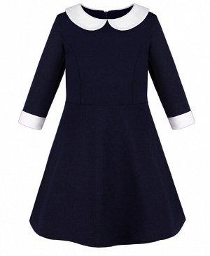 84302-ДШ20 Платье р-р.128-158 Цвет: синий
