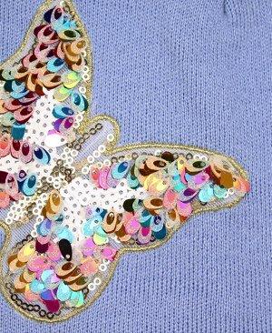 Шапка для девочки Цвет: Голубой