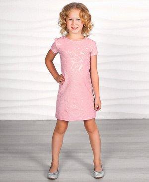 Светло-розовое платье для девочки Цвет: светло-розовый