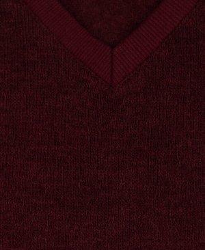 Бордовый жилет для мальчика Цвет: бордовый