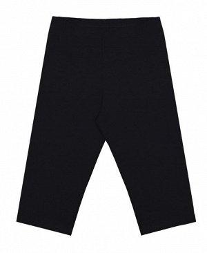 Черные бриджи для девочки Цвет: черный