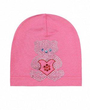 Шапка для девочки Цвет: розовый