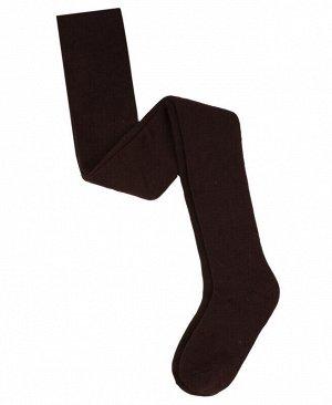 Коричневые колготки для девочки Цвет: коричневый