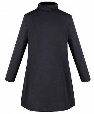 Темно-серое платье для девочки Цвет: тёмно-серый