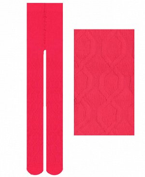 Малиновые колготки для девочки Цвет: фуксия