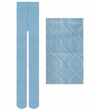 Голубые колготки для девочки Цвет: Голубой