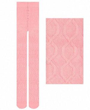Розовые колготки для девочки Цвет: розовый