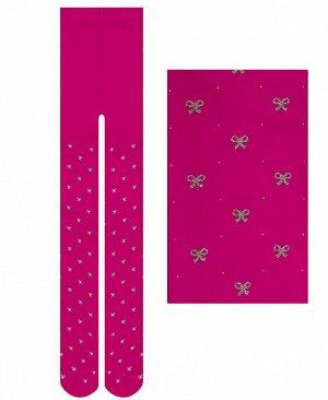 Капроновые колготки, 60 Den Цвет: фуксия
