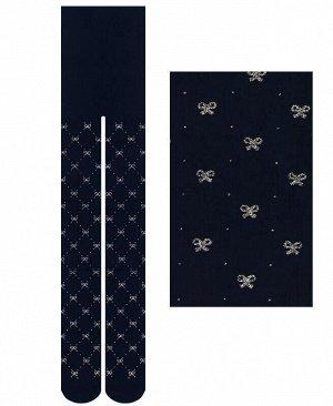 Синие капроновые колготки, 60 Den Цвет: синий