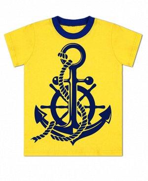 Жёлтая футболка для мальчика Цвет: жёлтый