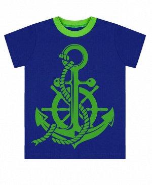 Синяя футболка для мальчика Цвет: синий