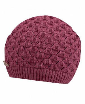 Пурпурная шапка для девочки Цвет: пурпурный