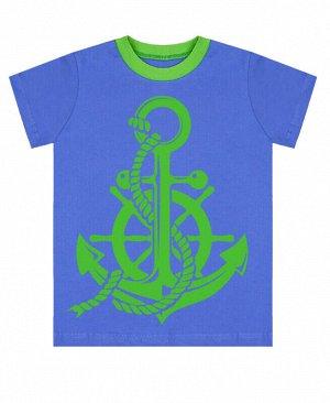 Светло-синяя футболка для мальчика Цвет: светло-синий