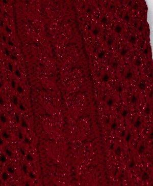 Красная шапка для девочки Цвет: красный
