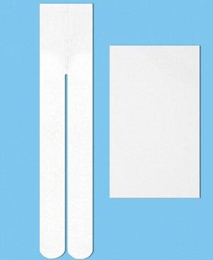 Капроновые колготки для девочки, 40 Den Цвет: белый