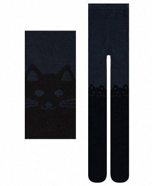 Детские колготки для девочки Цвет: темно серый
