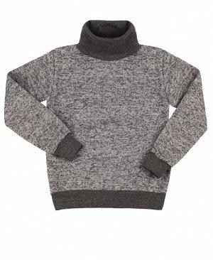 Джемпер для мальчика,серый меланж Цвет: серый меланж