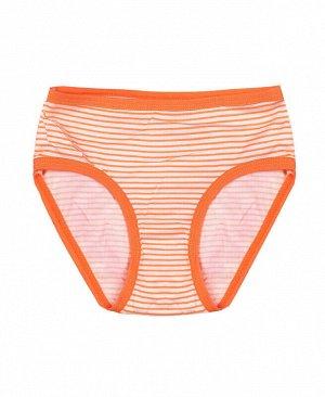 Трусы для девочки Цвет: оранжевый
