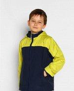 Синяя ветровка для мальчика Цвет: син.+желт